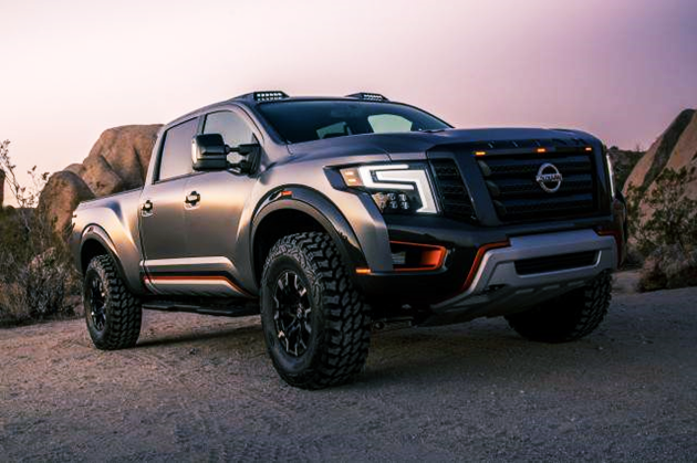 2019 Nissan Titan SR Midnight Edition Redesign