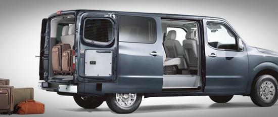 2020 Nissan NV Passenger Van Features